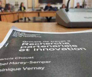 Restitution des groupes de travail sur la Loi Pluriannuelle de Programmation de la Recherche (LPPR)