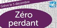 Retraites dans l'Enseignement Supérieur et la Recherche, sans revalorisation les personnels seront pénalisés : en grève le 5 décembre!